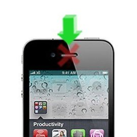 APPLE iPhone 4G Oorspeaker reparatie