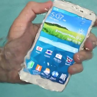 SAMSUNG Galaxy S5 Waterschade