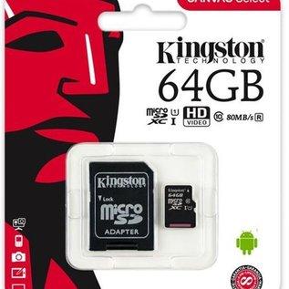 MicroSD 64GB + adapter