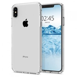 iPhone XS Max transparant silicoon