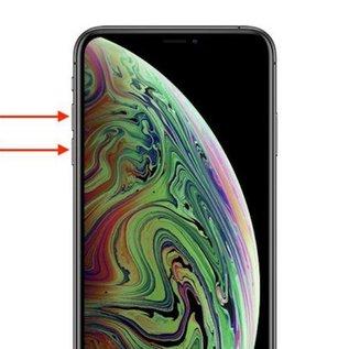 iPhone XS volume knop