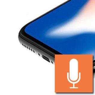 iPhone XS microfoon