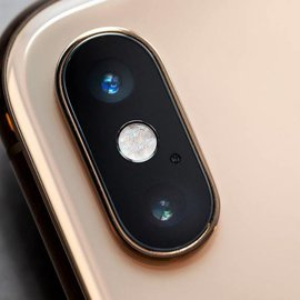iPhone XS Max camera achter