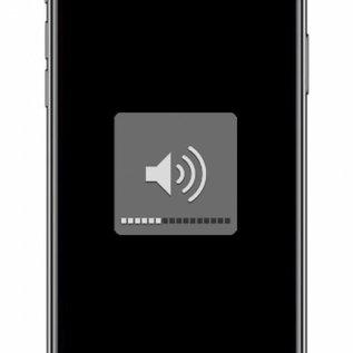 iPhone XR volumeknop