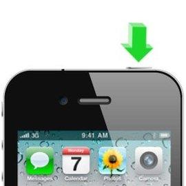 APPLE iPhone 4G Aan/uit knop reparatie