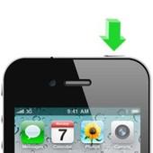 APPLE iPhone 4S Aan/uit knop reparatie