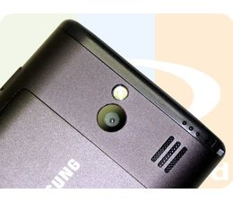 SAMSUNG Omnia 7 Back camera reparatie