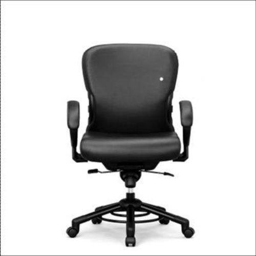 Interstuhl bureaustoelen Interstuhl XXXL Leder 652 Bureaustoel leer