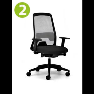 Interstuhl Interstuhl EVERYis1 Bureaustoel  zwart