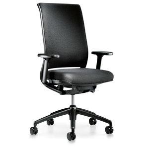 Interstuhl bureaustoelen Interstuhl Hero - Gestoffeerde middelhoge rugleuning