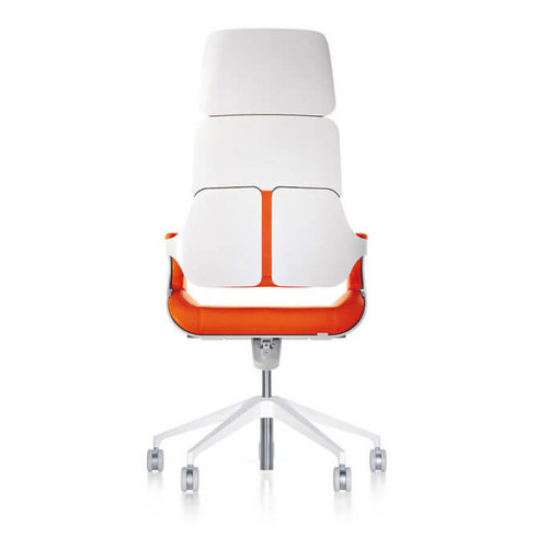 Interstuhl bureaustoelen Silver - Hoge rugleuning