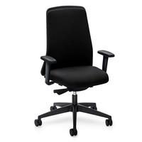 Interstuhl EVERYis1 Chillback bureaustoel zwart