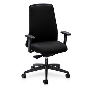 Interstuhl bureaustoelen Interstuhl EVERYis1 Chillback bureaustoel zwart