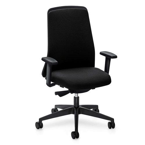 Interstuhl bureaustoelen Interstuhl EVERYis1 Chillback 146E bureaustoel zwart