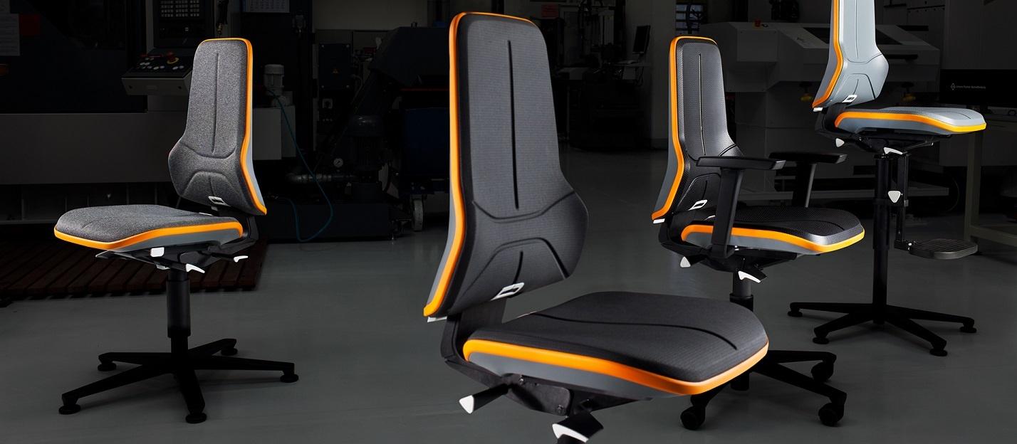 Bimos neon werkstoelen