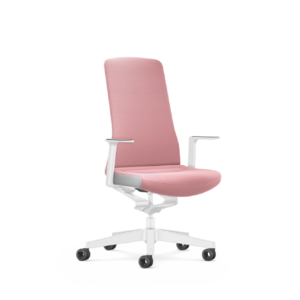 Interstuhl bureaustoelen PUREIS3  SPECIAL INTERIOR EDITION PINK