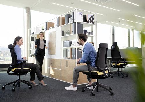 Zitinstructie bureaustoelen