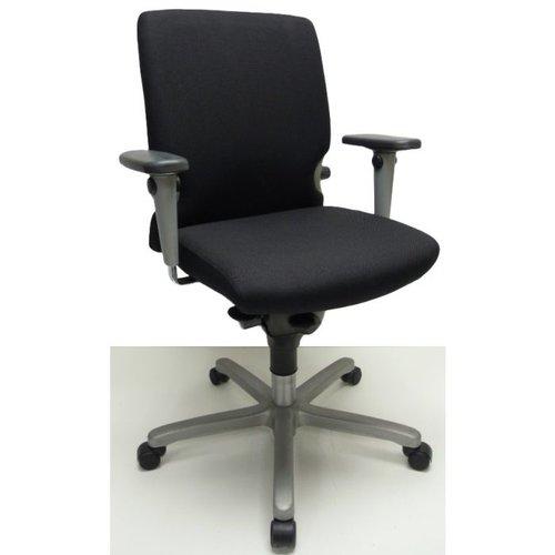 Bureaustoel Comforto 77 grijs voetkruis
