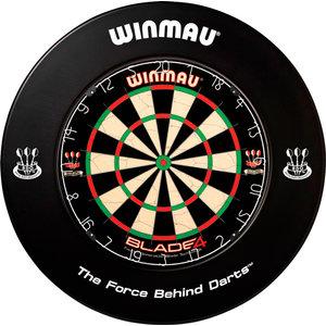 WINMAU Dartbord catchring Winmau zwart