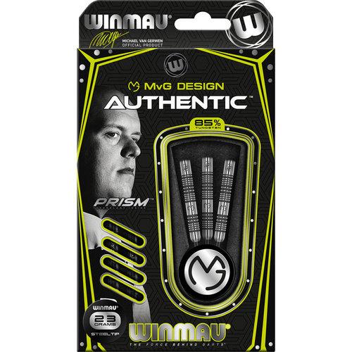 WINMAU Winmau MvG Authentic steeltip dartpijlen 23 gr.