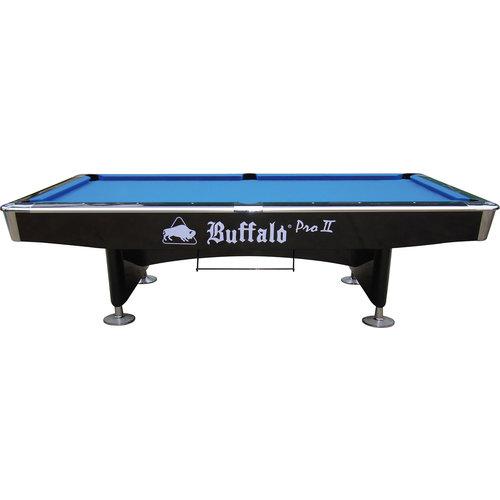 BUFFALO Pooltafel Buffalo Pro-II 8ft zwart (drop pocket)