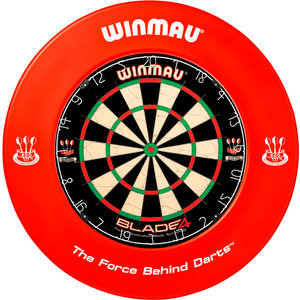 WINMAU Dartbord catchring Winmau rood