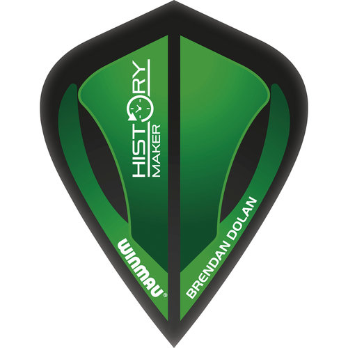 WINMAU Winmau Brendan Dolan steeltip dartpijlen 25gr