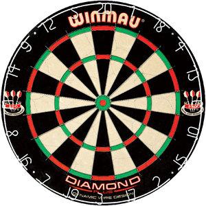 WINMAU Dartbord Winmau Diamond wired