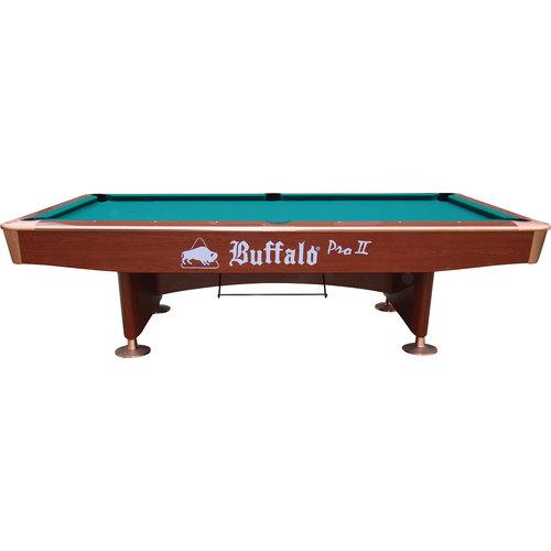 BUFFALO Pooltafel Buffalo Pro-II 9ft bruin (drop pocket)