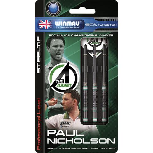 WINMAU Winmau Paul Nicholson steeltip dartpijlen onyx 24gr