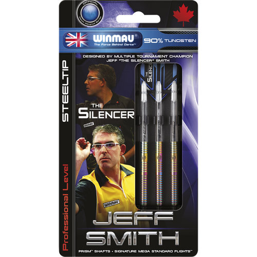 WINMAU Winmau Jeff Smith steeltip dartpijlen 25gr