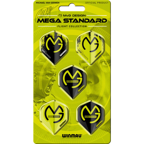WINMAU Winmau MvG Mega Standard flight collection