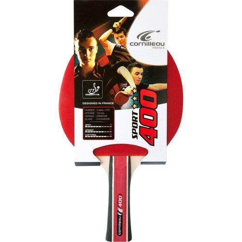 CORNILLEAU Tafeltennis bat Cornilleau Sport 400 rood