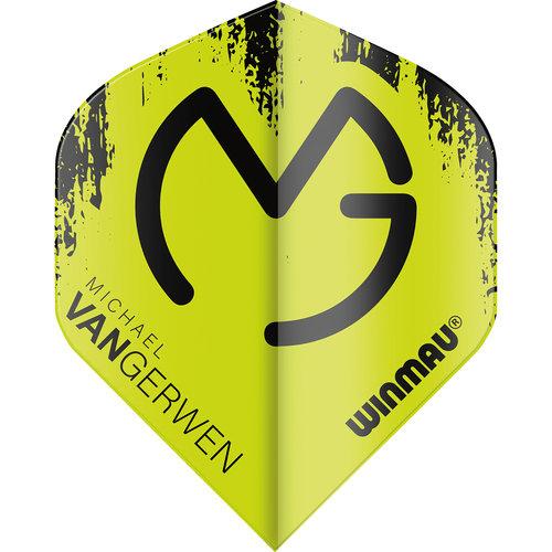 WINMAU Winmau MvG Mega Standard flight groen/zwart