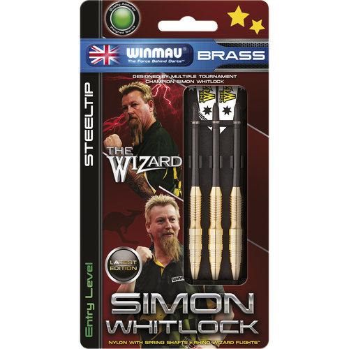 WINMAU Winmau Simon Whitlock brass steeltip dartpijlen 24gr