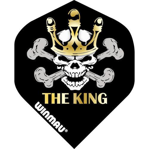 WINMAU Winmau Mervyn King steeltip dartpijlen zilver 26gr