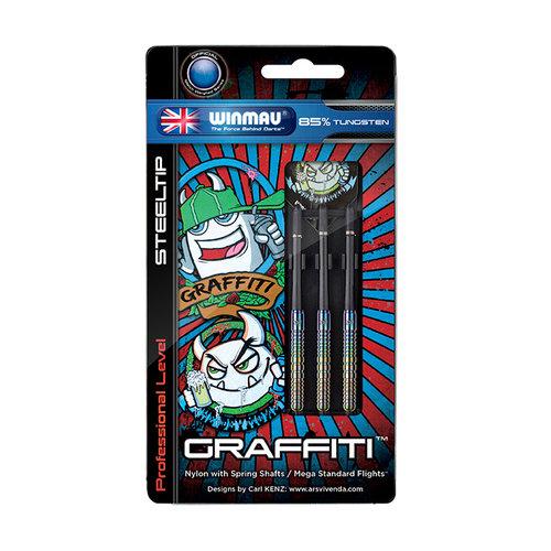 WINMAU Darts Winmau Graffiti 85% Tungsten 24 gram
