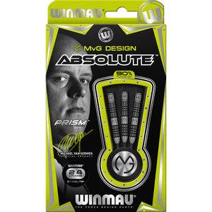 WINMAU Winmau MvG Absolute steeltip dartpijlen 24 gr.