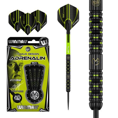 WINMAU Winmau MvG Adrenalin steeltip dartpijlen 24 gr.