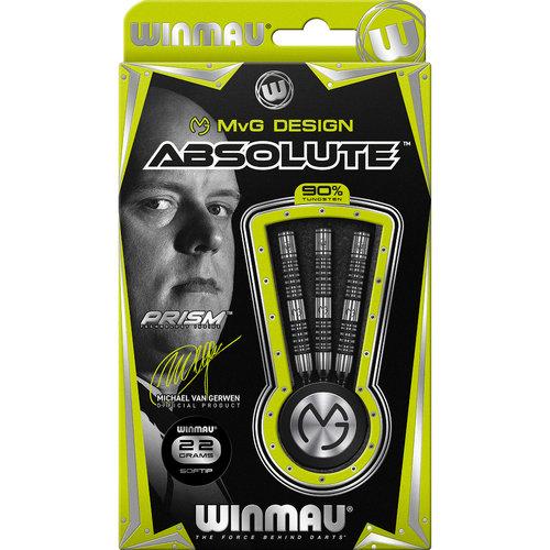 WINMAU Winmau MvG Absolute softtip dartpijlen 22 gr.