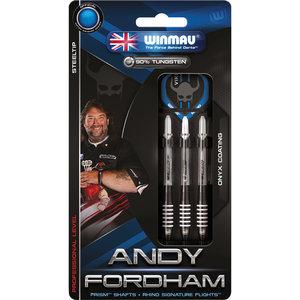 WINMAU Winmau Andy Fordham steeltip dartpijlen 25gr