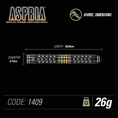 WINMAU Winmau Aspria dual core steeltip darts 26gr