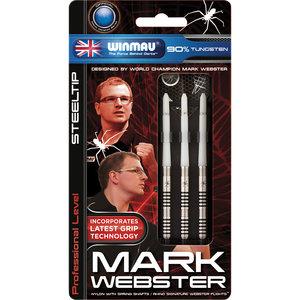 WINMAU Winmau Mark Webster steeltip dartpijlen 23gr