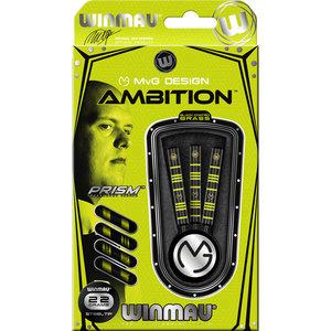 WINMAU Winmau MvG Ambition brass steeltip dartpijlen 22 gr.