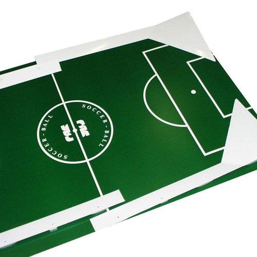 Tafelvoetbal  onderdelen