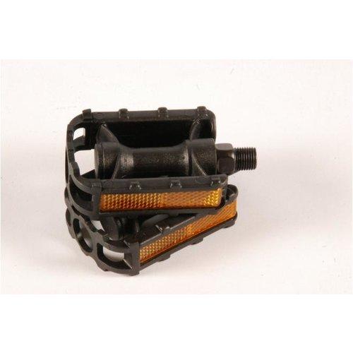 Volare Volare Fietspedalen - 2 stuks - Voor 12 inch kinderfietsen - Zwart - Trappers