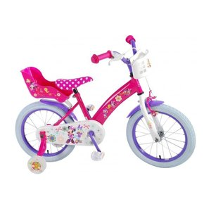 Volare Disney Minnie Bow-Tique Kinderfiets - Meisjes - 16 inch - Roze