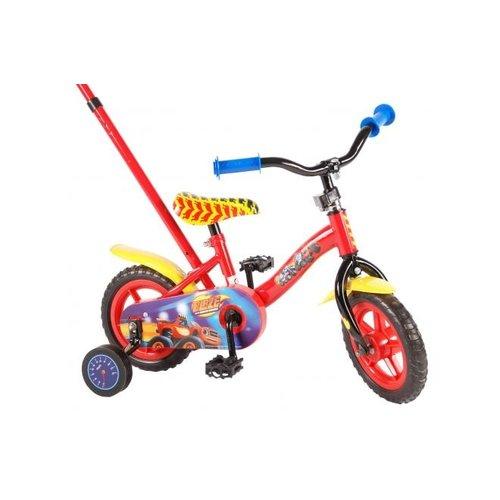 Volare Blaze Kinderfiets - Jongens - 10 inch - Rood/Geel