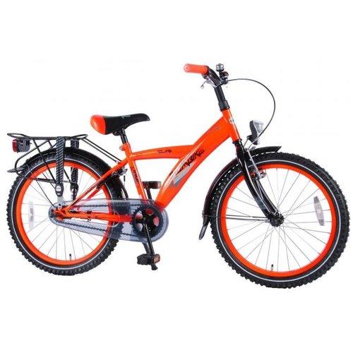 Volare Volare Thombike City Kinderfiets - Jongens - 20 inch - Neon Oranje - 95% afgemonteerd