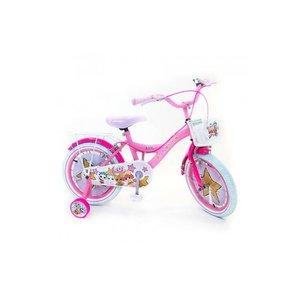 Volare LOL Surprise Kinderfiets - Meisjes - 16 inch - Roze - 2 handremmen